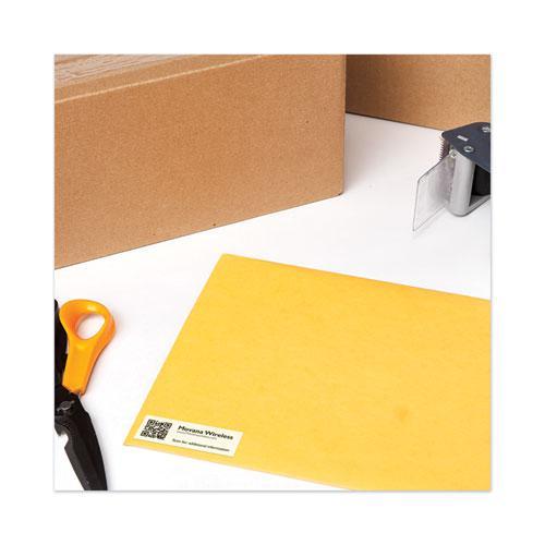 Copier Mailing Labels, Copiers, 1 x 2.81, White, 33/Sheet, 100 Sheets/Box. Picture 2