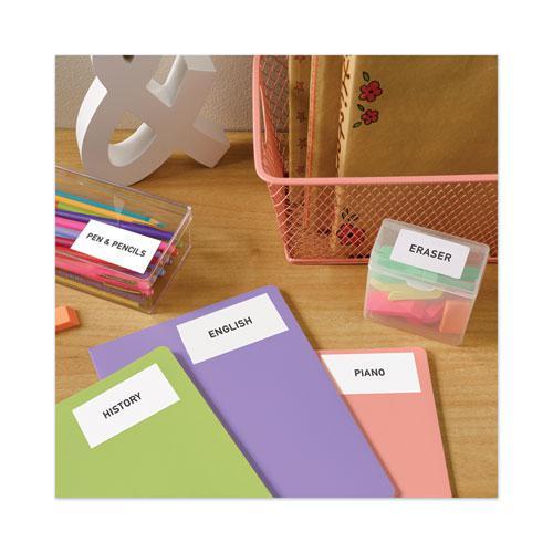 Copier Mailing Labels, Copiers, 1.38 x 2.81, White, 24/Sheet, 100 Sheets/Box. Picture 2