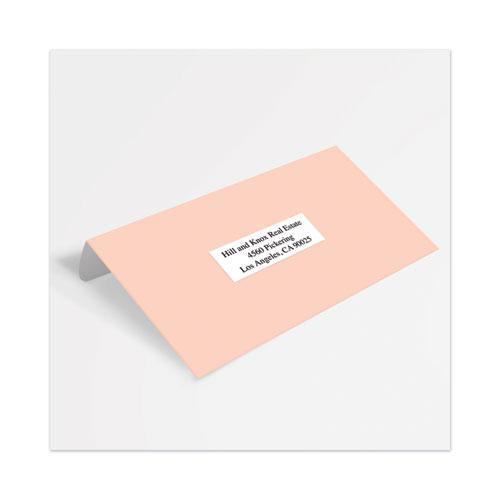 Copier Mailing Labels, Copiers, 1 x 2.81, White, 33/Sheet, 250 Sheets/Box. Picture 2