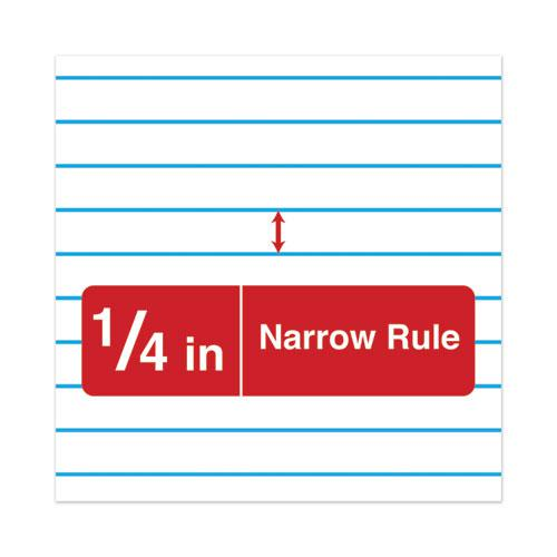 Wirebound Memo Book, Narrow Rule, 3 x 5, White, 50 Sheets, 12/Pack. Picture 6