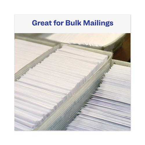 Dot Matrix Printer Mailing Labels, Pin-Fed Printers, 0.94 x 3.5, White, 5,000/Box. Picture 6
