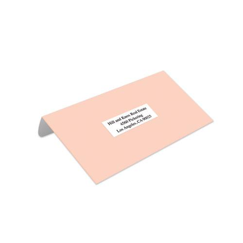 White Copier Labels, Copiers, 1 x 2.81, White, 33/Sheet, 100 Sheets/Box. Picture 2