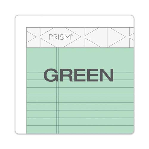 Prism + Writing Pads, Narrow Rule, 5 x 8, Pastel Green, 50 Sheets, 12/Pack. Picture 5