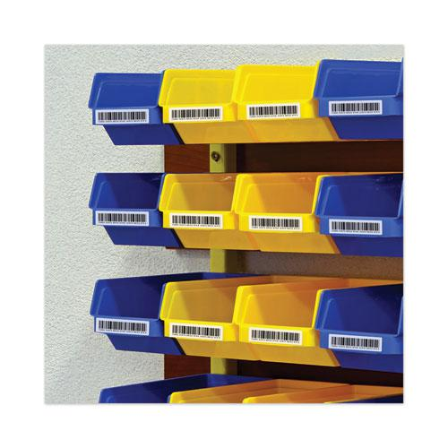 Dot Matrix Printer Mailing Labels, Pin-Fed Printers, 0.94 x 3.5, White, 5,000/Box. Picture 4