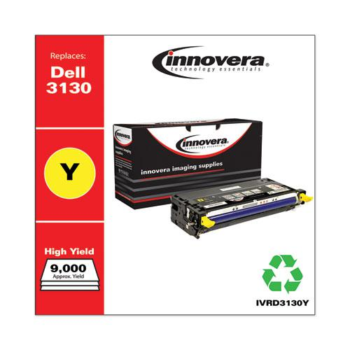 Remanufactured Yellow High-Yield Toner, Replacement for Dell 3130 (330-1204), 9,000 Page-Yield. Picture 2