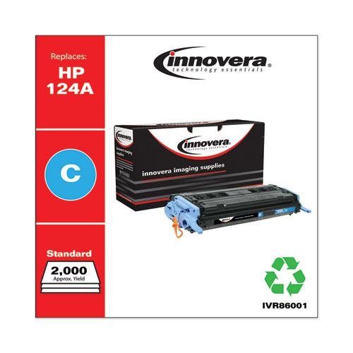 Remanufactured Cyan Toner, Replacement for HP 124A (Q6001A), 2,000 Page-Yield. Picture 2