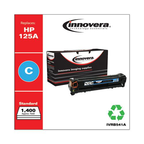 Remanufactured Cyan Toner, Replacement for HP 125A (CB541A), 1,400 Page-Yield. Picture 2