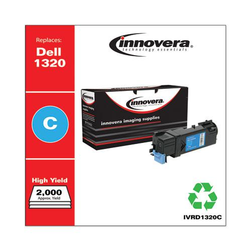 Remanufactured Cyan High-Yield Toner, Replacement for Dell 1320 (310-9060), 2,000 Page-Yield. Picture 2