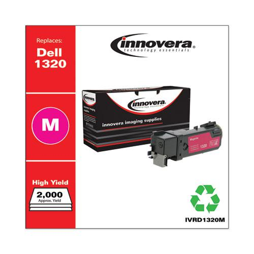 Remanufactured Magenta High-Yield Toner, Replacement for Dell 1320 (310-9064), 2,000 Page-Yield. Picture 2