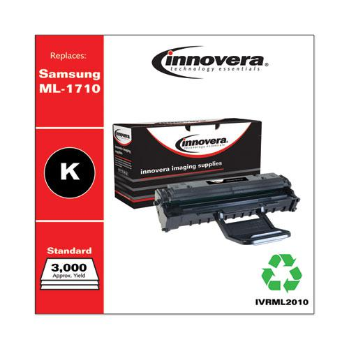 Remanufactured Black Toner, Replacement for Samsung ML-2010, 3,000 Page-Yield. Picture 1