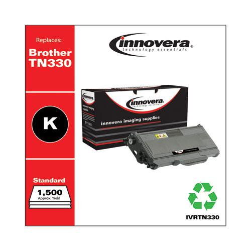 Remanufactured Black Toner, Replacement for Brother TN330, 1,500 Page-Yield. Picture 2