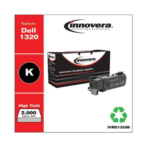 Remanufactured Black High-Yield Toner, Replacement for Dell 1320 (310-9058), 2,000 Page-Yield. Picture 1
