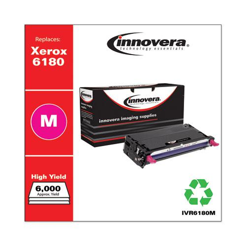 Remanufactured Magenta High-Yield Toner, Replacement for Xerox 6180 (113R00724), 6,000 Page-Yield. Picture 2