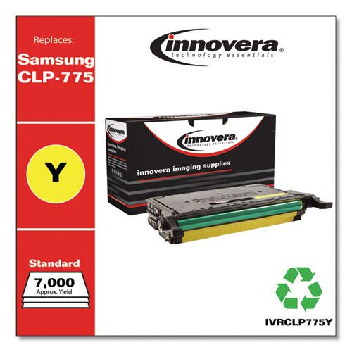 Remanufactured Yellow Toner, Replacement for Samsung CLP-775 (CLT-Y609S), 7,000 Page-Yield. Picture 2