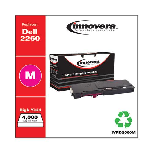Remanufactured Magenta High-Yield Toner, Replacement for Dell D2660 (593-BBBS), 4,000 Page-Yield. Picture 2