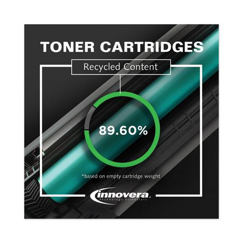 Remanufactured Yellow Toner, Replacement for HP 202A (CF502A), 1,300 Page-Yield. Picture 2