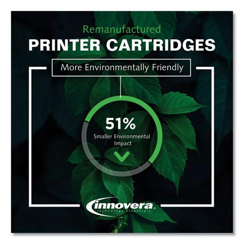 Remanufactured Yellow Toner, Replacement for HP 202A (CF502A), 1,300 Page-Yield. Picture 3