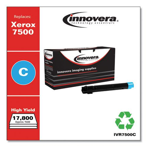 Remanufactured Cyan High-Yield Toner, Replacement for Xerox 106R01436, 17,800 Page-Yield. Picture 1