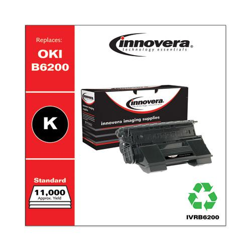 Remanufactured Black Toner, Replacement for Oki B6200 (52114501), 11,000 Page-Yield. Picture 2