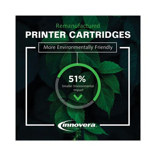 Remanufactured Black High-Yield Toner, Replacement for HP 508X (CF360X), 12,500 Page-Yield. Picture 6