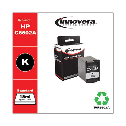 Remanufactured Black Ink, Replacement for HP 21 (C9351AN), 190 Page-Yield. Picture 2