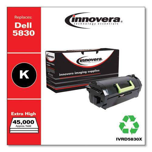 Remanufactured Black Extra High-Yield Toner, Replacement for Dell S5830 (593-BBYT), 45,000 Page-Yield. Picture 1