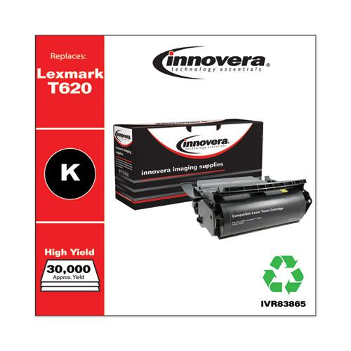 Remanufactured Black High-Yield Toner, Replacement for Lexmark T620, 30,000 Page-Yield. Picture 2