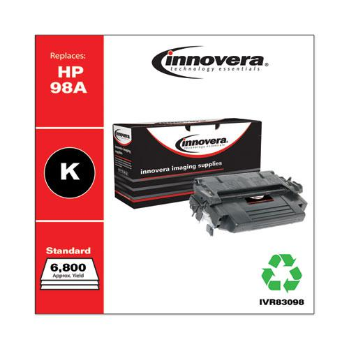 Remanufactured Black Toner, Replacement for HP 98A (92298A), 6,800 Page-Yield. Picture 2