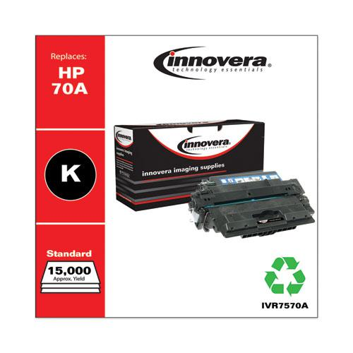 Remanufactured Black Toner, Replacement for HP 70A (Q7570A), 15,000 Page-Yield. Picture 2