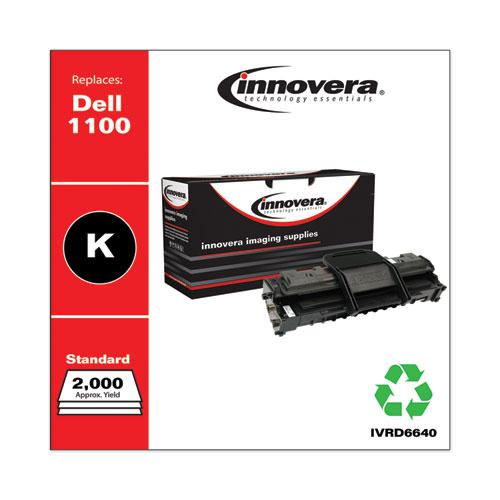 Remanufactured Black Toner, Replacement for Dell 1100 (310-6640), 2,000 Page-Yield. Picture 2