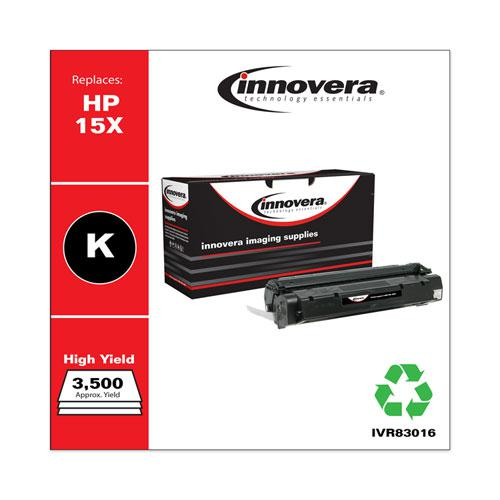 Remanufactured Black High-Yield Toner, Replacement for HP 15X (C7115X), 3,500 Page-Yield. Picture 2