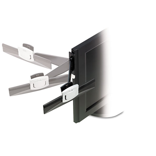 Swing Arm Copyholder Adhesive Monitor Mount Plastic 30