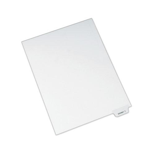 Avery-Style Preprinted Legal Bottom Tab Dividers, Exhibit T, Letter, 25/Pack. Picture 1