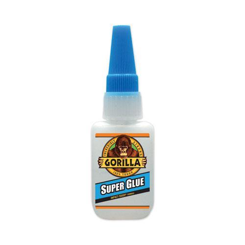 Super Glue, 0.53 oz, Dries Clear, 4/Carton. Picture 5