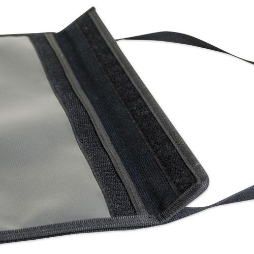 1-Pocket Shop Ticket Holder w/Strap and Black Stitching, 75-Sheet, 9 x 12. Picture 5