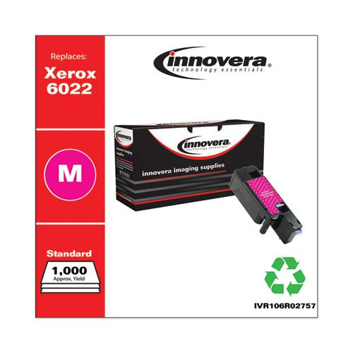 Remanufactured Magenta Toner, Replacement for Xerox 6022 (106R02757), 1,000 Page-Yield. Picture 2