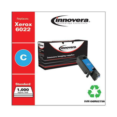 Remanufactured Cyan Toner, Replacement for Xerox 6022 (106R02756), 1,000 Page-Yield. Picture 2