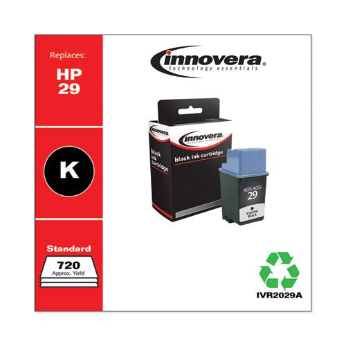 Remanufactured Black Ink, Replacement for HP 29 (51629A), 720 Page-Yield. Picture 2