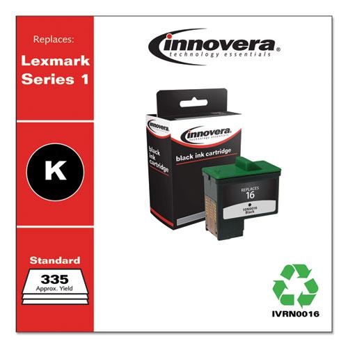 Remanufactured Black Ink, Replacement for Lexmark 16 (10N0016), 335 Page-Yield. Picture 2