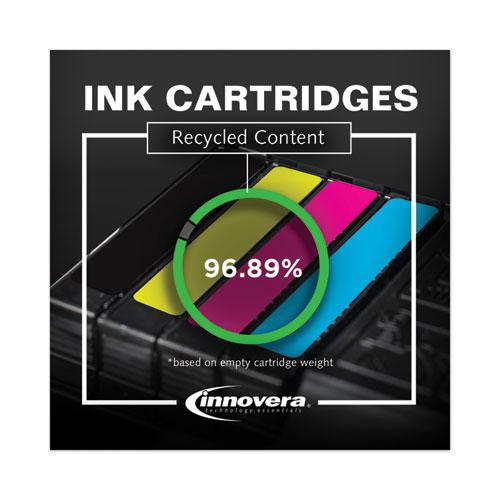 Remanufactured Black High-Yield Ink, Replacement for Brother LC65BK, 900 Page-Yield. Picture 6
