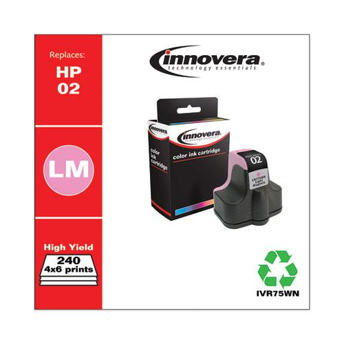 Remanufactured Light Magenta Ink, Replacement for HP 02 (C8775WN), 240 Page-Yield. Picture 2