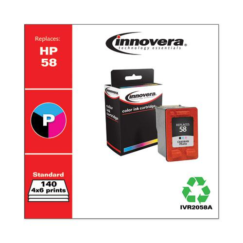 Remanufactured Photo Ink, Replacement for HP 58 (C6658AN), 140 Page-Yield. Picture 2