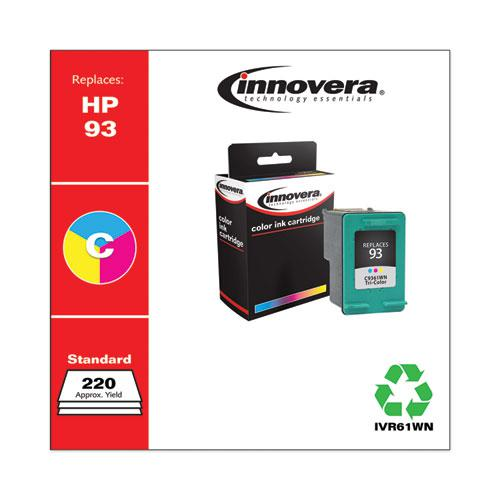 Remanufactured Tri-Color Ink, Replacement for HP 93 (C9361WN), 175 Page-Yield. Picture 2