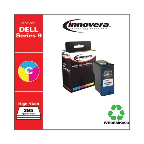 Remanufactured Tri-Color High-Yield Ink, Replacement for Dell Series 9 (MK991), 285 Page-Yield. Picture 2