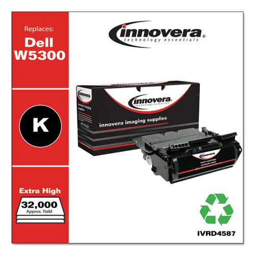 Remanufactured Black High-Yield Toner, Replacement for Dell W5300 (310-4587), 32,000 Page-Yield. Picture 2
