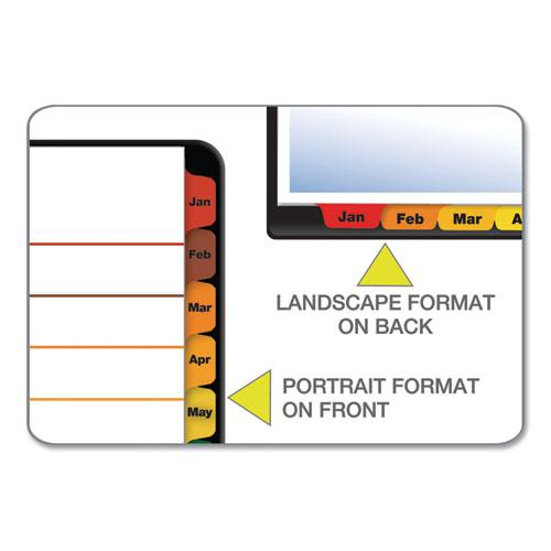 OneStep Printable Table of Contents and Dividers, 12-Tab, Jan. to Dec., 11 x 8.5, White, 1 Set. Picture 6