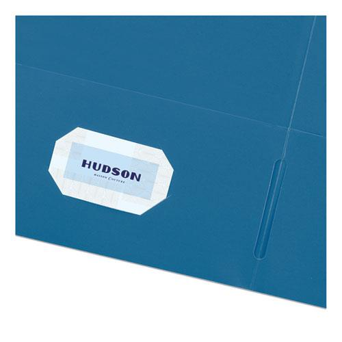 Two-Pocket Folder, 40-Sheet Capacity, Assorted Colors, 25/Box. Picture 5