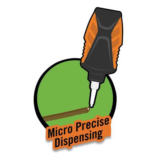 Super Glue Micro Precise, 0.19 oz, Dries Clear, 4/Carton. Picture 8