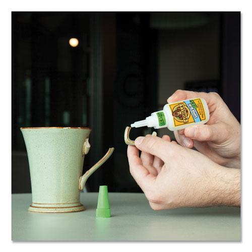 Super Glue Gel, 0.53 oz, Dries Clear, 4/Carton. Picture 2