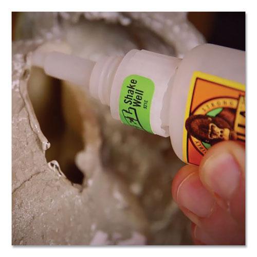 Super Glue Gel, 0.53 oz, Dries Clear, 4/Carton. Picture 11